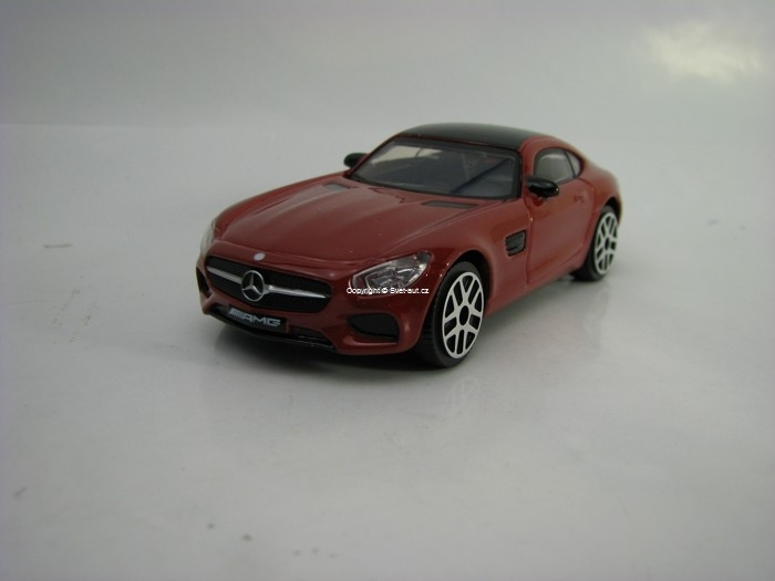Mercedes-Benz AMG GT Red 1:43 Bburago